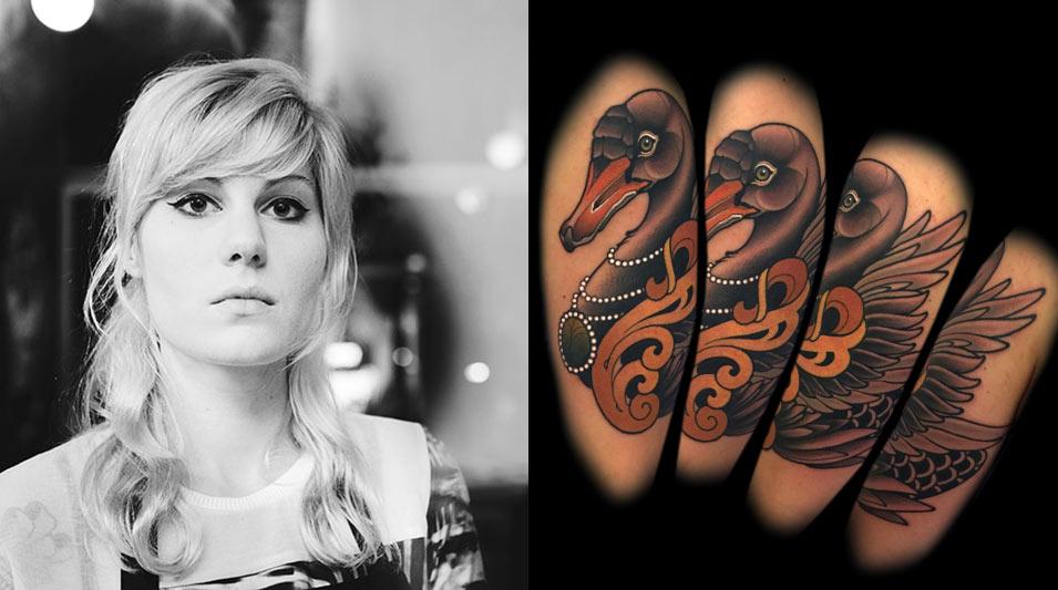 Alex Sacha Tatoueur le mondial du tatouage 2017 - myra brodsky