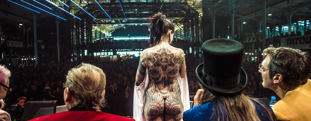 Le mondial du tatouage 2017 - Bon salon de tatouage paris ...